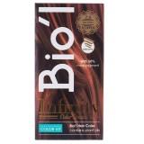 کیت رنگ موی Bio'l شماره 7.4 مسی روشن